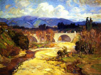 Arroyo Seco Bridge | Franz Bischoff | oil painting