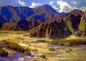 Desert Mountains Coachella Valley | Franz Bischoff | oil painting