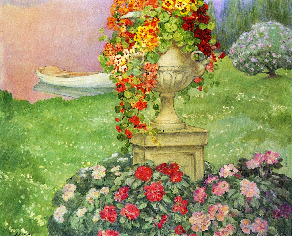 Garden With Urn | Henri Lebasque | Oil Painting
