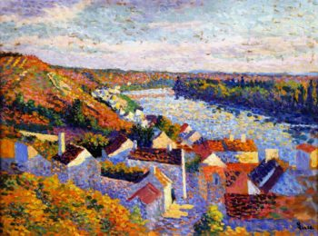 Bend in the River | Maximilien Luce | oil painting