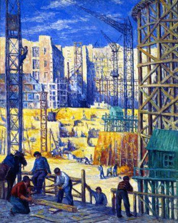 Building Quai de Passy | Maximilien Luce | oil painting