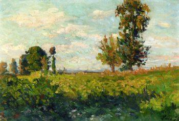 Fields | Maximilien Luce | oil painting