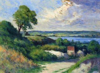 Landscape at Collettes | Maximilien Luce | oil painting