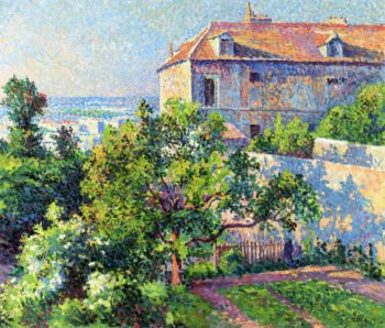 Montmartre the House of Suzanne Valadon | Maximilien Luce | oil painting