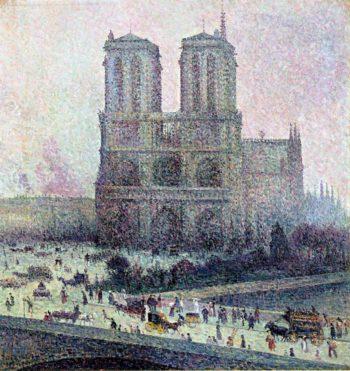Notre Dame 1 | Maximilien Luce | oil painting