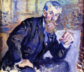 Portrait of Henri Edmond Cross   Maximilien Luce   oil painting