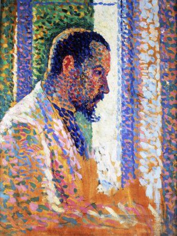 Portrait of Paul Signac   Maximilien Luce   oil painting
