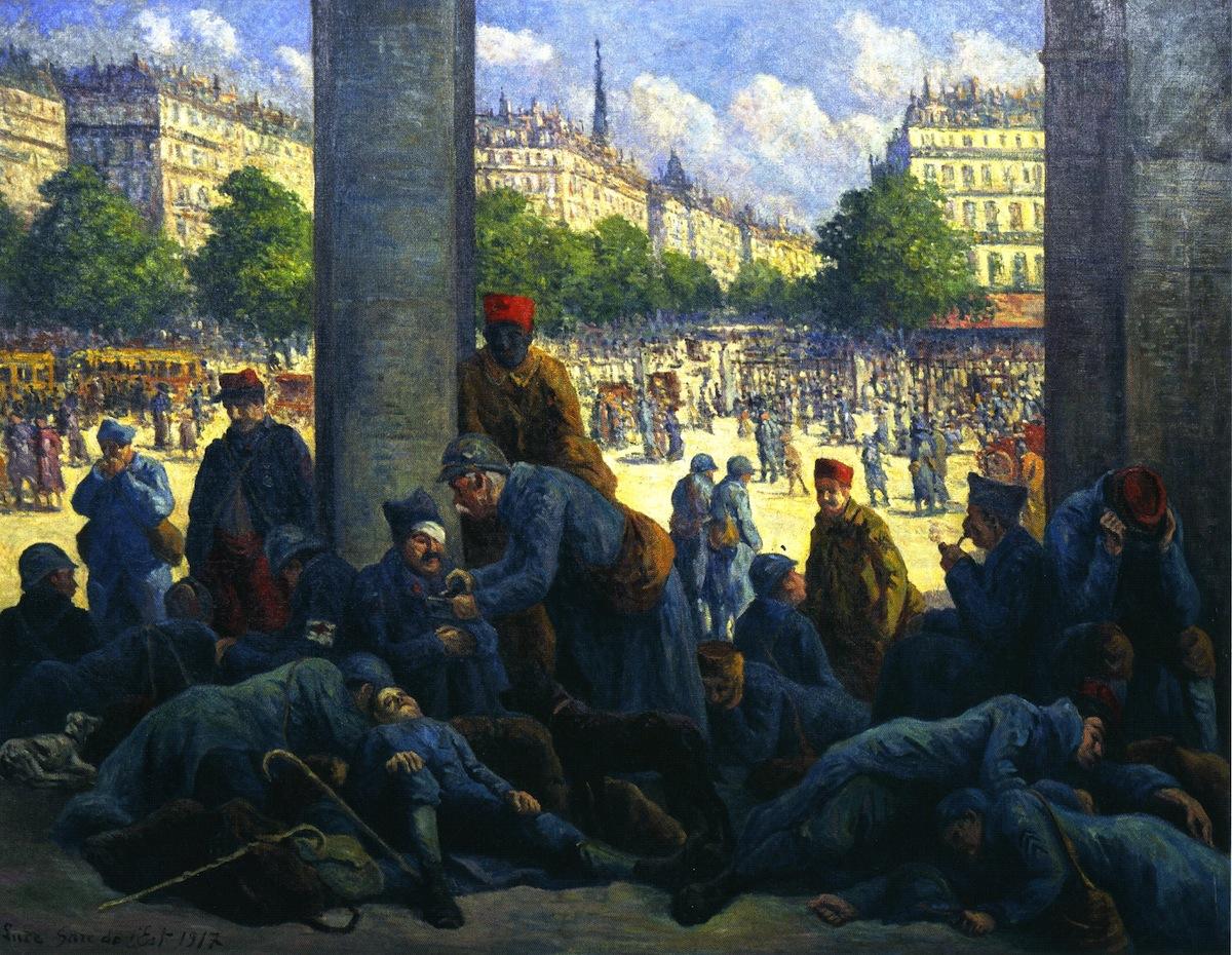 The Gare de l'Est | Maximilien Luce | oil painting