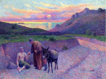 The Good Samaritan | Maximilien Luce | oil painting