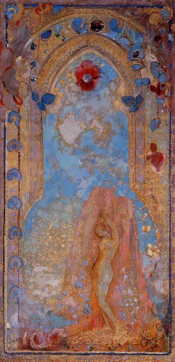 Andromeda | Odilon Redon | oil painting