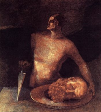 Angel Executions | Odilon Redon | oil painting