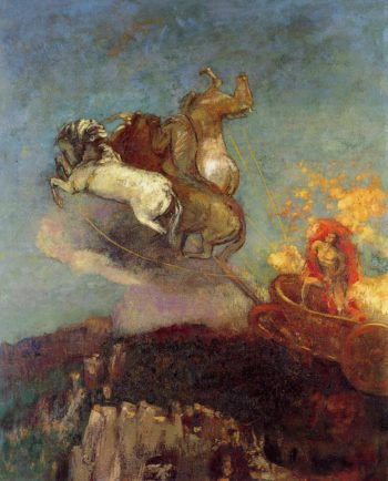 Apollo's Chariot | Odilon Redon | oil painting