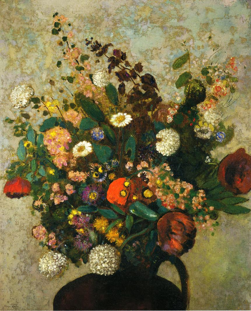Bouquet of flowers painting odilon redon oil paintings bouquet of flowers odilon redon oil painting izmirmasajfo