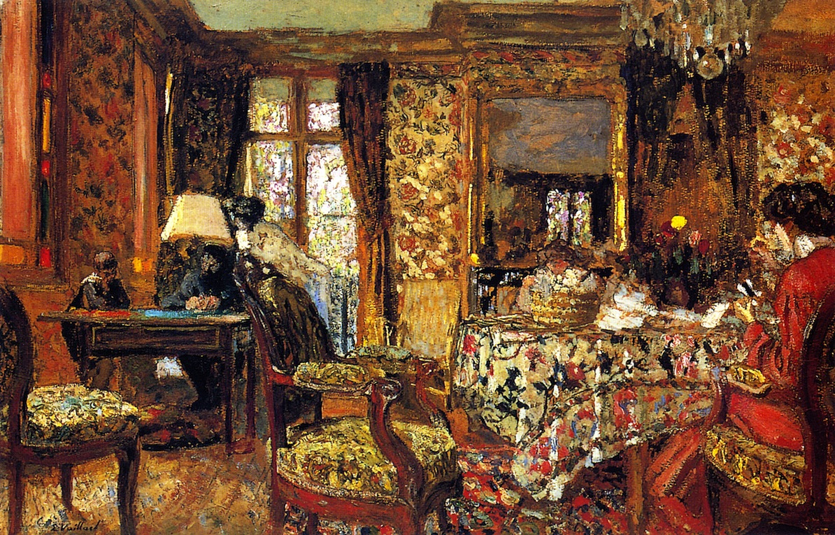 In the Room | Edouard Vuillard | oil painting