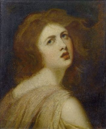 A Study of Emma Lady Hamilton as Miranda | George Romney | oil painting