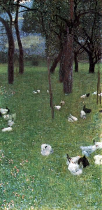 After the Rain | Gustav Klimt | oil painting