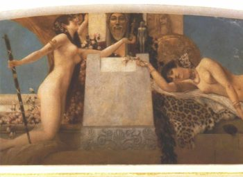 Altar of Dionysos | Gustav Klimt | oil painting