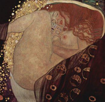 Danae | Gustav Klimt | oil painting