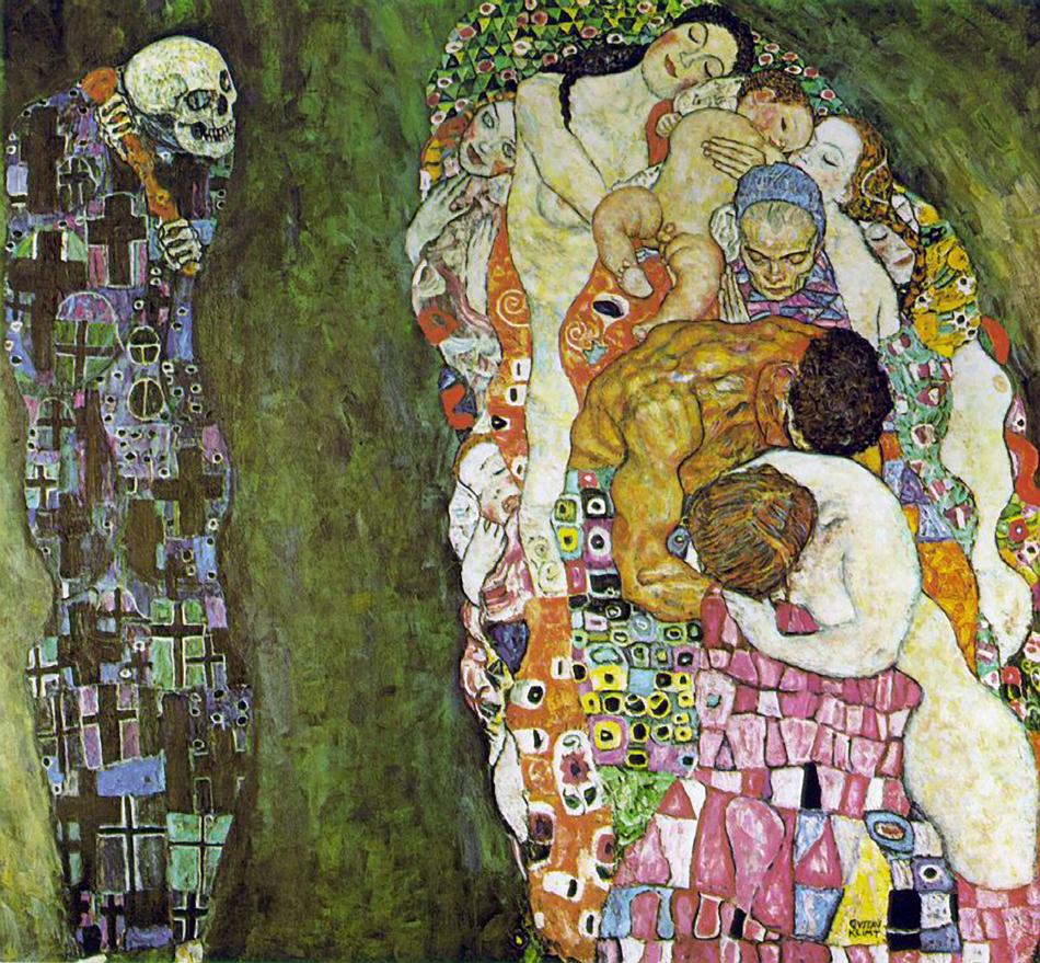 Death and Life | Gustav Klimt | oil painting