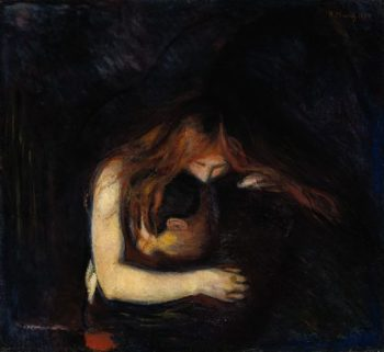 Vampire | Edvard Munch | oil painting