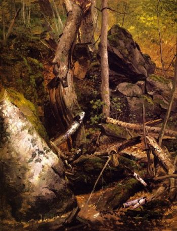 Forest Interior | William Holbrook Beard | oil painting