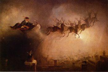 Santa Claus   William Holbrook Beard   oil painting