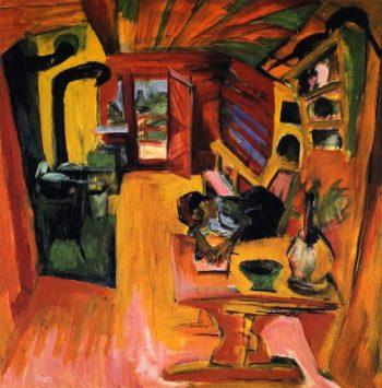 Alpkuche | Ernst Ludwig Kirchner | oil painting