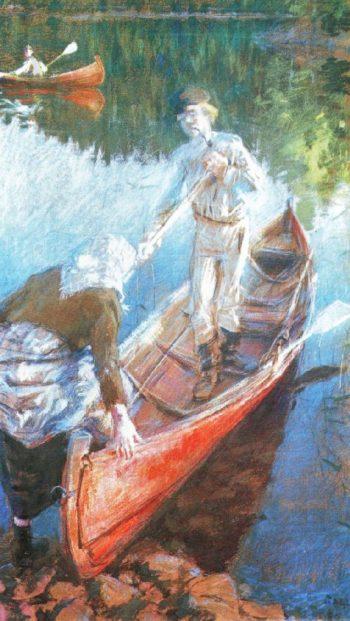 Midsummers Night | Akseli Gallen Kallela | oil painting