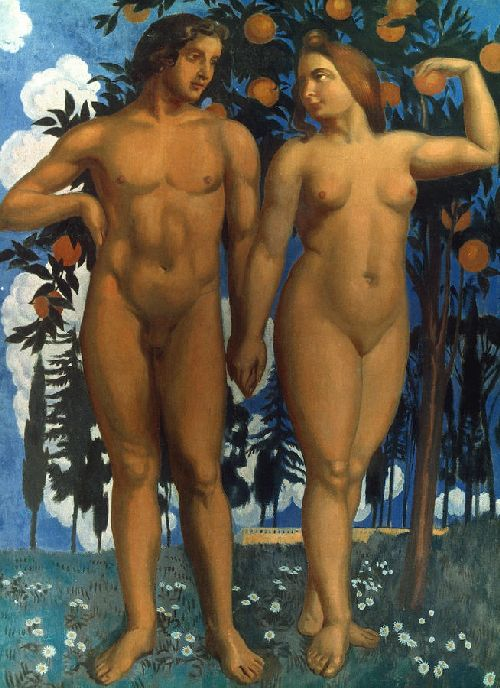 Adam and Eve | Maurice Denis | oil painting