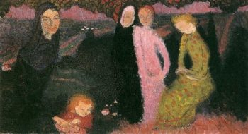Composition of flowers | Maurice Denis | oil painting