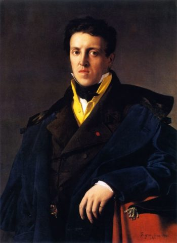 Charles Marcotte | Jean Auguste Dominique Ingres | oil painting