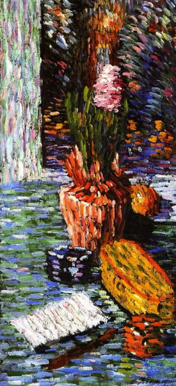 Hyacinth Elongated xxPrivate collection   Alexei Jawlensky   oil painting