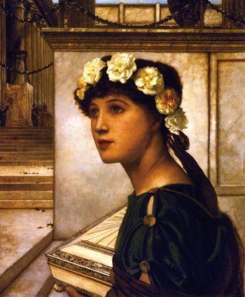 A Vestal | John Atkinson Grimshaw | oil painting