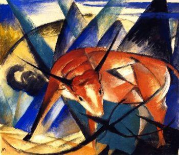 Bull | Franz Marc | oil painting