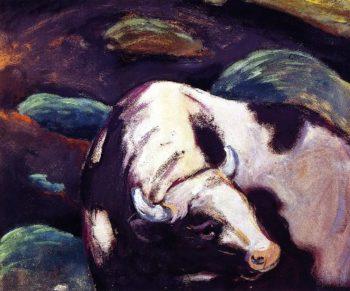 Bull 2 | Franz Marc | oil painting