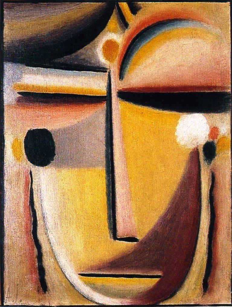 Abstract Head | Alexei Jawlensky | oil painting