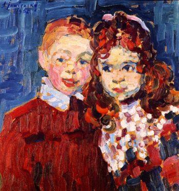 Andre and Katja | Alexei Jawlensky | oil painting