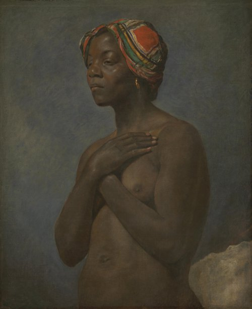 A Black Woman | French | oil painting