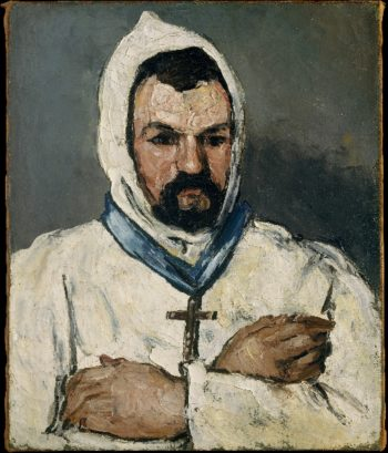 Antoine Dominique Sauveur Aubert the Artists Uncle as a Monk (1866) | Paul Cezanne | oil painting