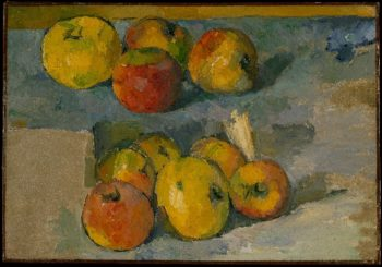 Apples (1878-79) | Paul Cezanne | oil painting
