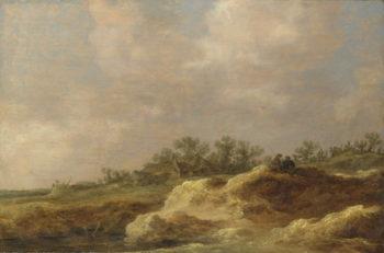 A Cottage on a Heath | Jan van Goyen | oil painting