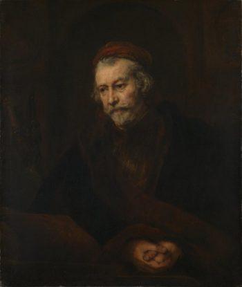 An Elderly Man as Saint Paul | Rembrandt | oil painting