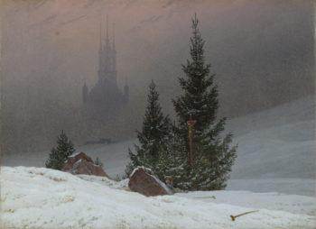 Winter Landscape | Caspar David Friedrich | oil painting