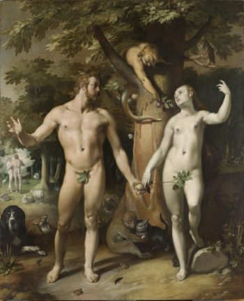 Резултат с изображение за fall of man painting