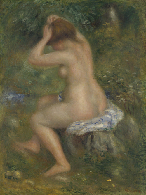 A Bather | Pierre-Auguste Renoir | oil painting