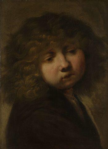 Boys Cup. after 1643   Rembrandt Harmensz. van Rijn   oil painting