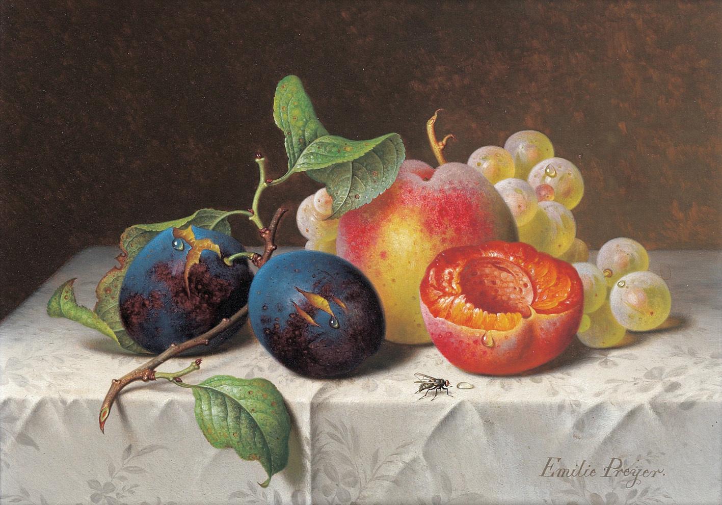 Still Life Artist Fruit