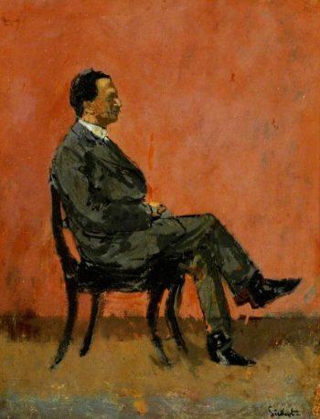 Fred Winter   Walter Richard Sickert   oil painting