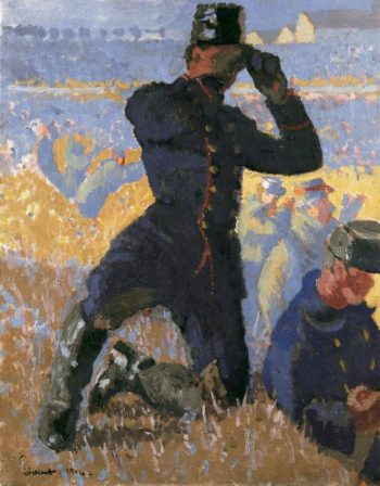 The Integrity of Belgium   Walter Richard Sickert   oil painting