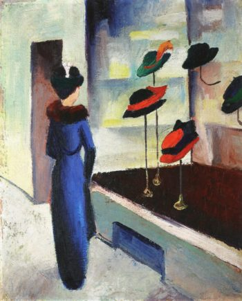 Milliners Shop | August Macke | oil painting